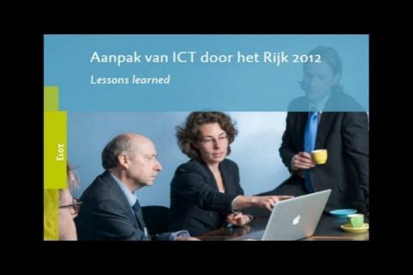 ICT bij het Rijk: Lessons Learned